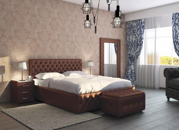 Мягкая кровать Купол тысячелетия - фото