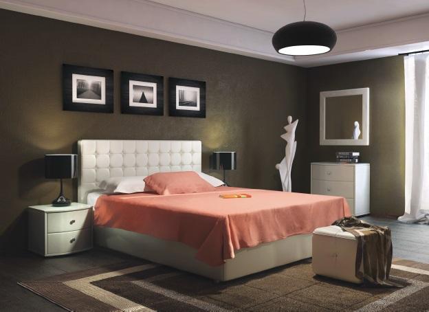 Мягкая кровать Ла Скала - фото