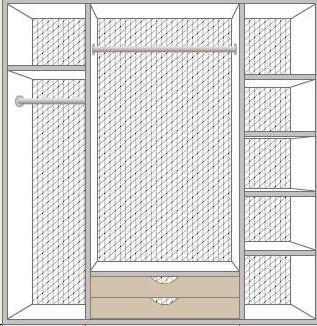 Шкаф Роза 4 дверный - фото