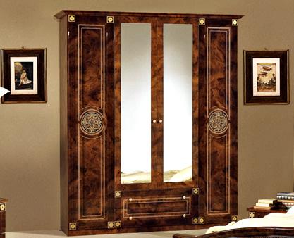 Шкаф Рома 4-дверный - фото