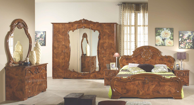 Спальня Тициана с 5-дверным шкафом - фото
