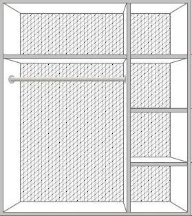 Шкаф Тициана 3-дверный - фото