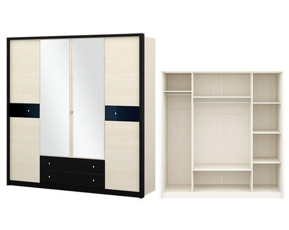 Шкаф 4-дверный Мэдисон - фото