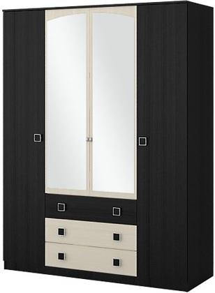 """Шкаф 4-дверный """"Люсси"""" - фото"""