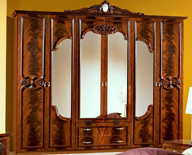 Шкаф Ольга 6-дверный - фото