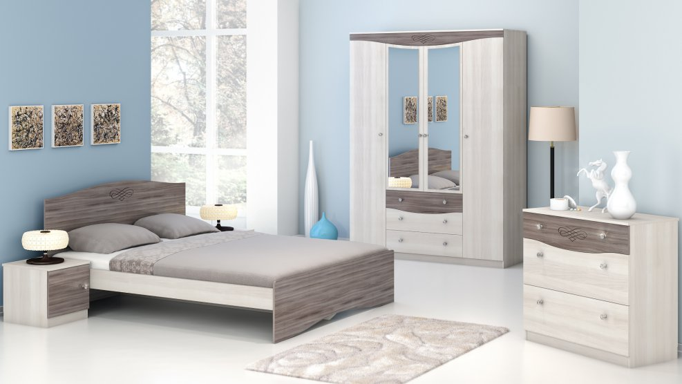 Кровать Ванесса - фото