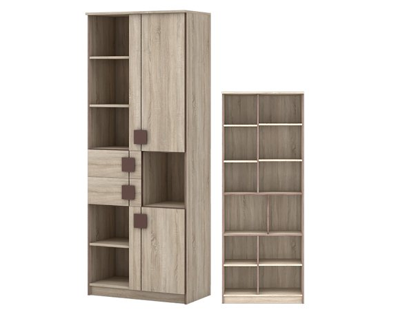 Шкаф 2-дверный детский Диско - фото
