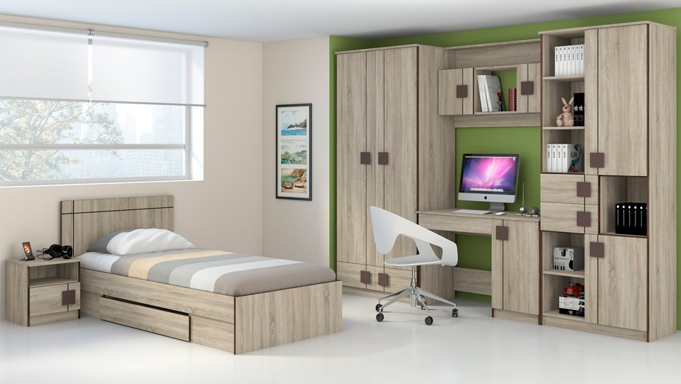Кровать детская  с ящиком Диско - фото