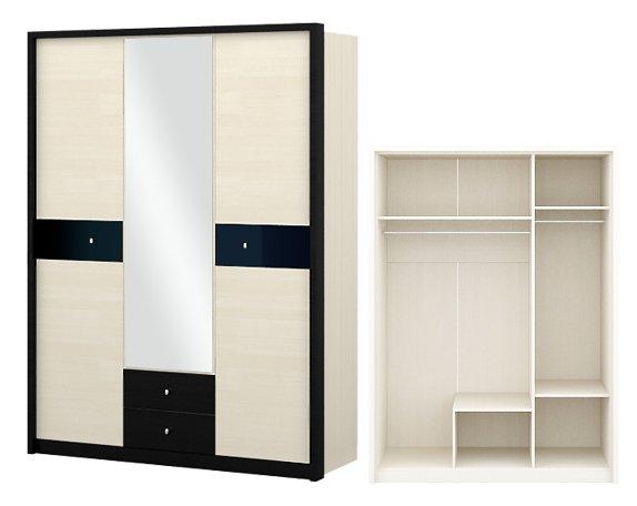 Спальня Мэдисон с 3-дверным шкафом - фото