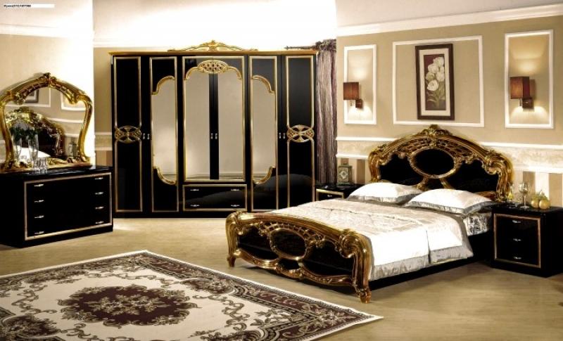 Спальня Ольга с 6-дверным шкафом - фото