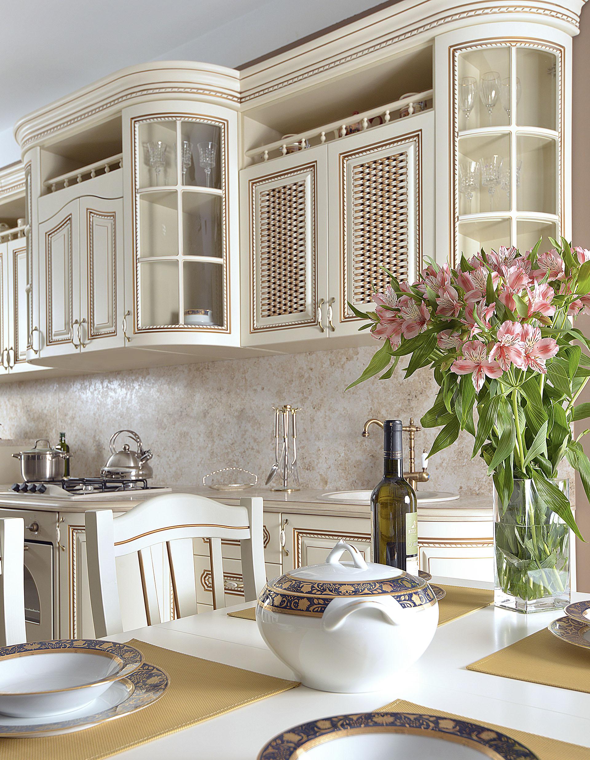 Кухня Селена крем - фото