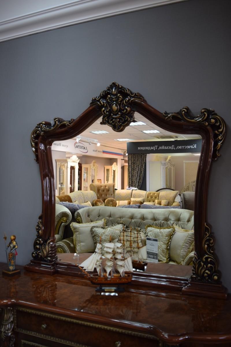 Мебель для гостиной Джоконда Комод с зеркалом - фото