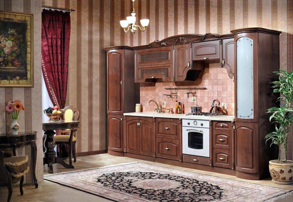 Кухня  Мадлен, орех караваджо - фото