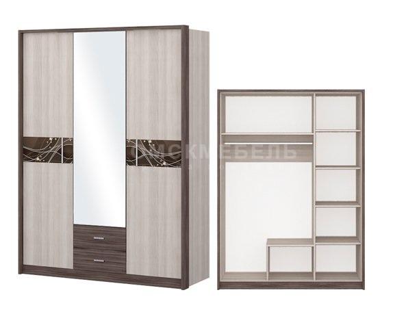 Шкаф 3-дверный Николь - фото