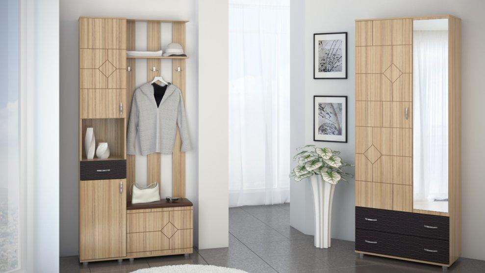 Шкаф 2-дверный Далиан - фото