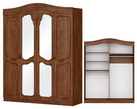 Шкаф 4-дверный София - фото