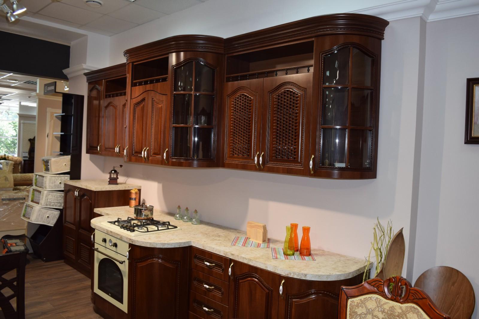 Кухня Селена, орех караваджо - фото