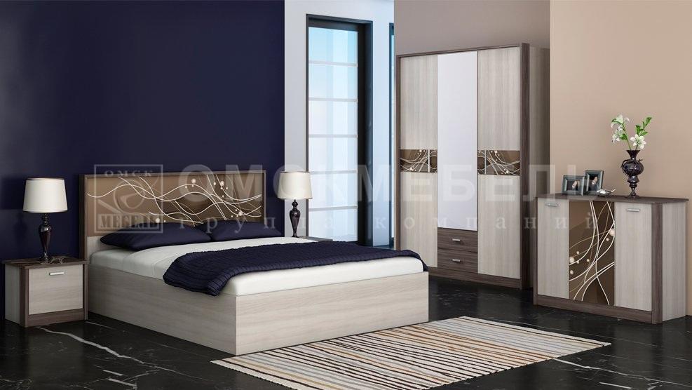 Мебель для спальни Николь шкаф 4-дверный - фото