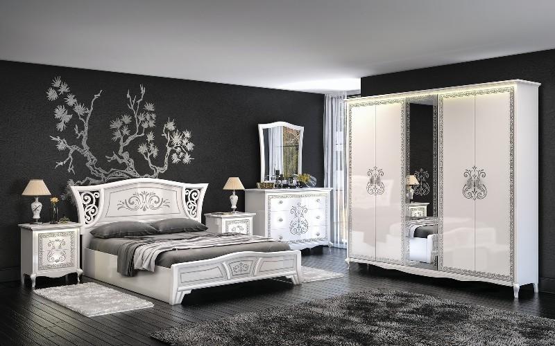 Кровать 1,8 ВИНТАЖ - фото