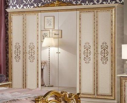 Спальня Анита  6-дверный шкаф - фото