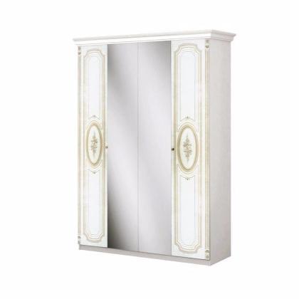 Шкаф 4-дверный ФЛОРЕНЦИЯ - фото