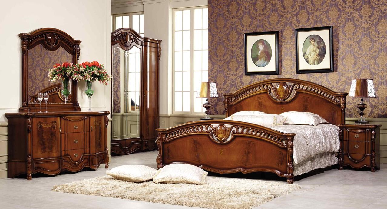 Спальня Венеция с 4-х дверным шкафом - фото