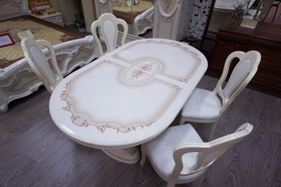 Стол обеденный раскладной Роза Интердизайн - фото