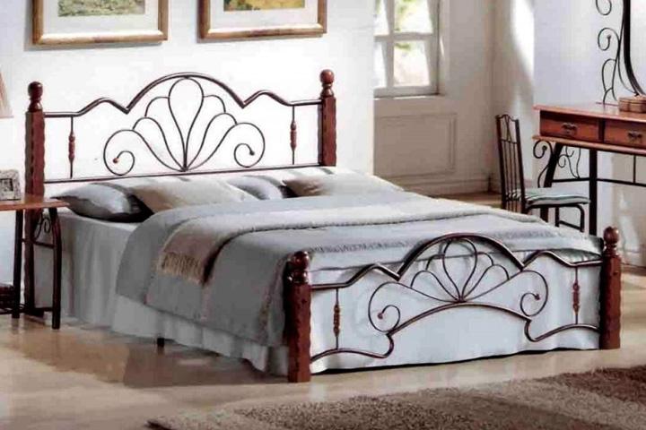 Кровать FD 871 металлическая Малайзия - фото