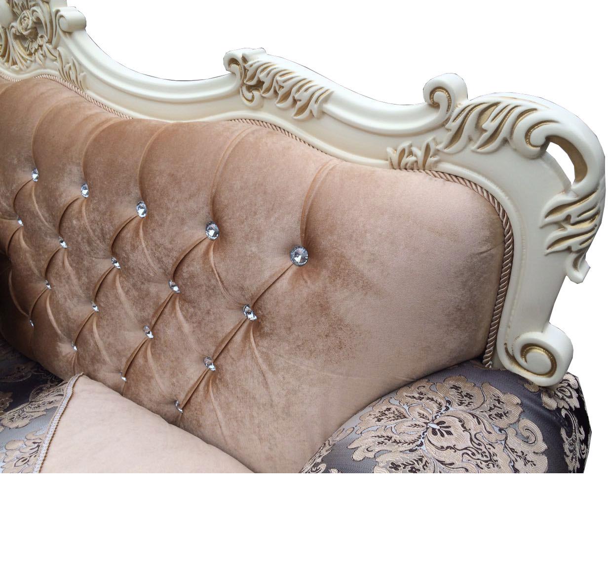 Диван раскладной Рамито (декор - массив бука) - фото