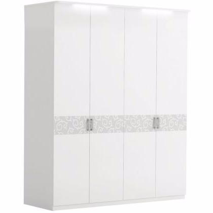 Шкаф 4-дверный БЕЛЛА - фото