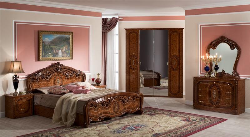 Кровать 1,6 ФЛОРЕНЦИЯ - фото