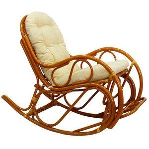 Кресло-качалка с подножкой 05/17 - фото