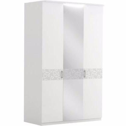 Шкаф 3-дверный с зеркалом БЕЛЛА - фото