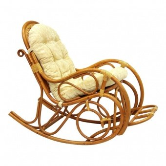Кресло-качалка с подножкой 05/11 MATTE - фото