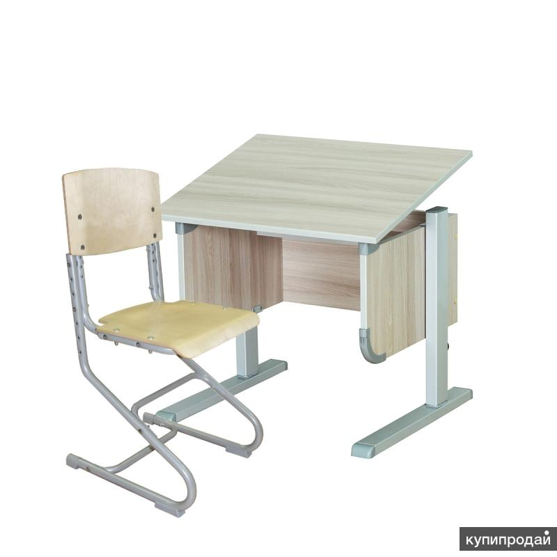 Стол СУТ.28 + Стул СУТ.01-01 (фанера) - фото