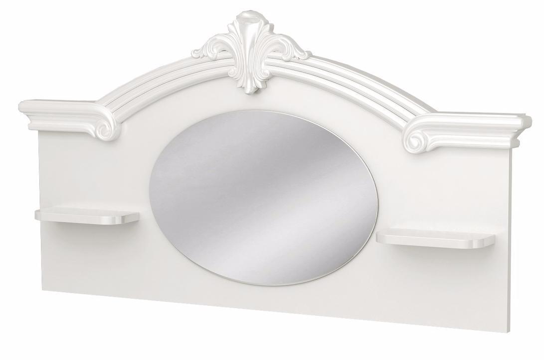 Панель стола с зеркалом  Леди Роза - фото