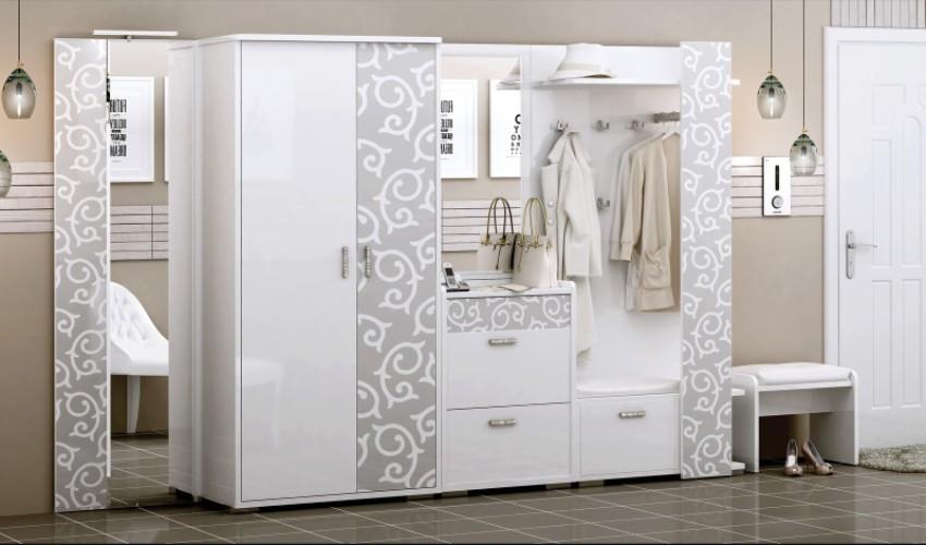 Шкаф 2-дверный Белла - фото