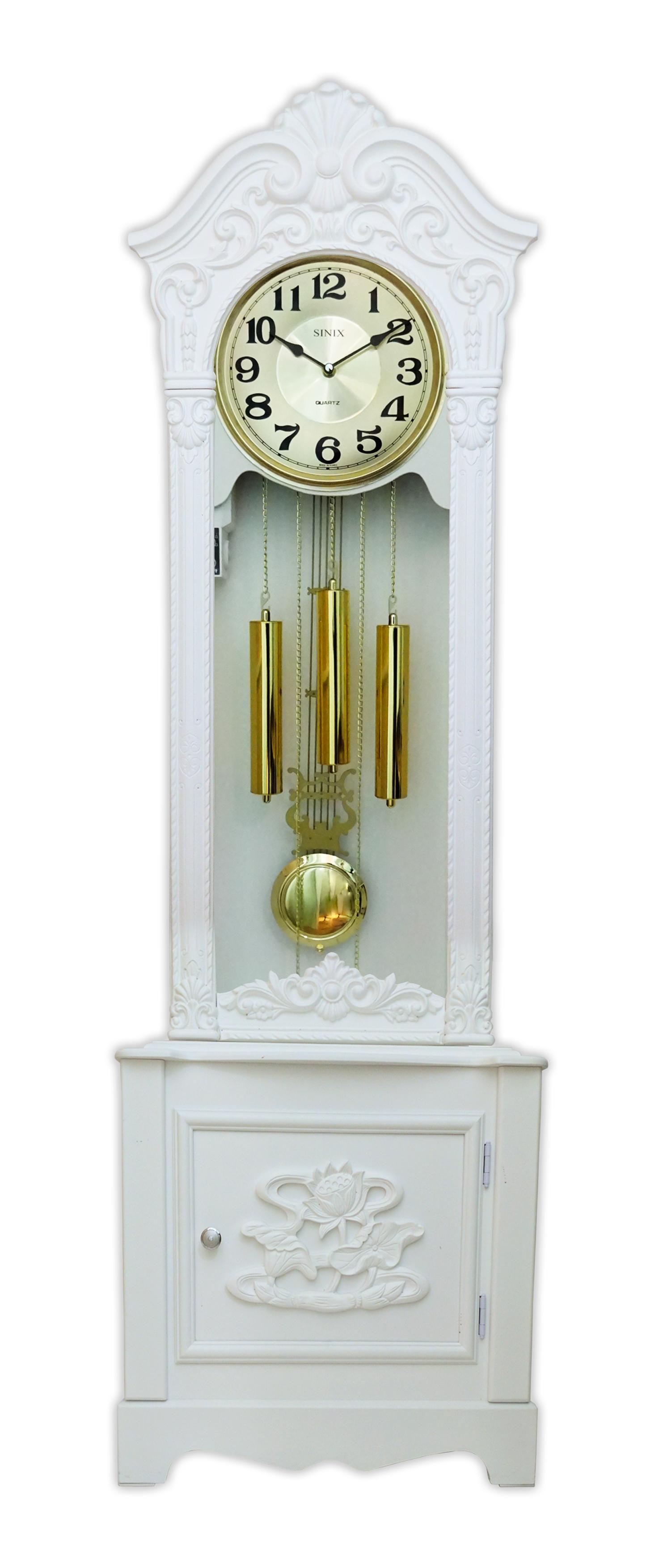 Часы напольные 904ES W/G - фото