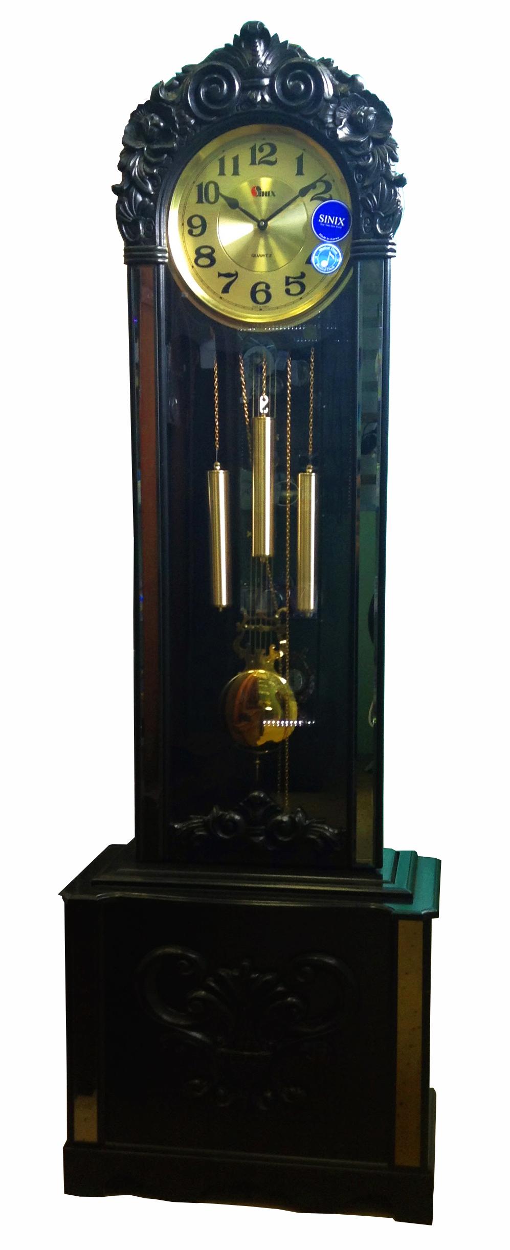 Часы напольные 925ES Blk - фото