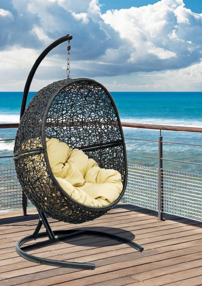 Кресло подвесное Lunar Black - фото