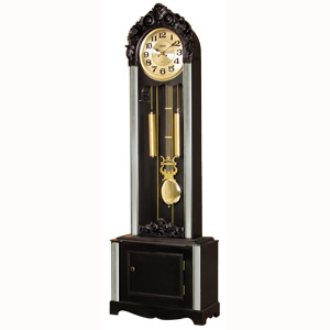 Часы напольные 924ES Blk - фото