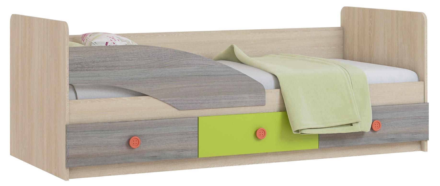 Детская кровать Пуговка 80*200 - фото