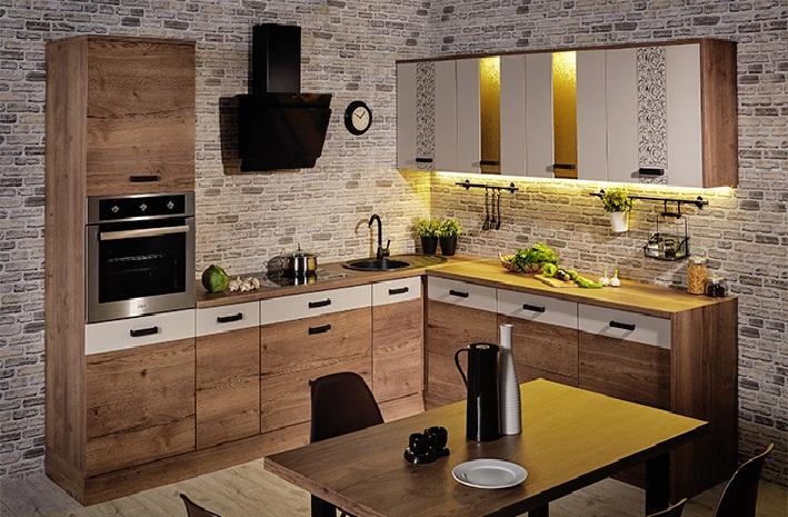 Кухня Адель угловая 2800*2400 - фото