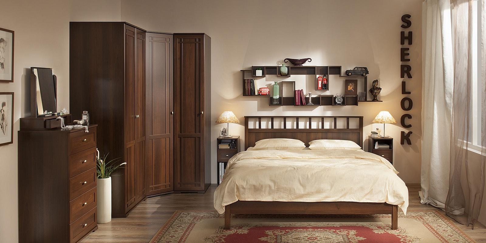 Спальный гарнитур Sherlock Шерлок (композиция 1) - фото
