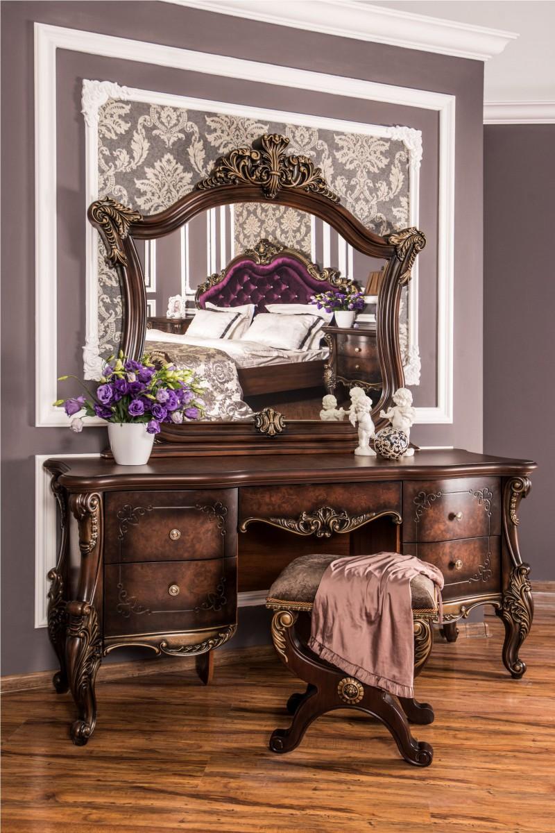 Спальный гарнитур Росселла корень дуба глянец - фото