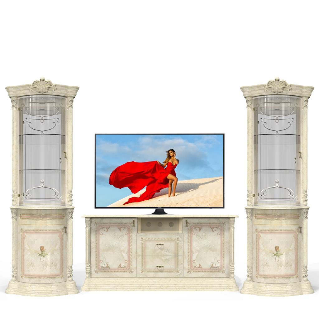 Тумба ТВ «Роза Беж» - фото