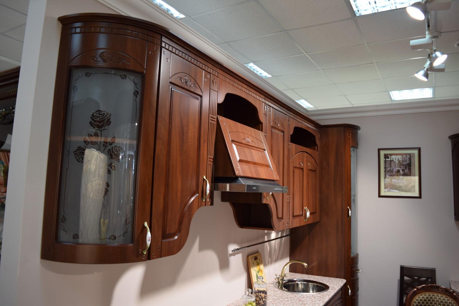 Кухня Агата, орех караваджо - фото
