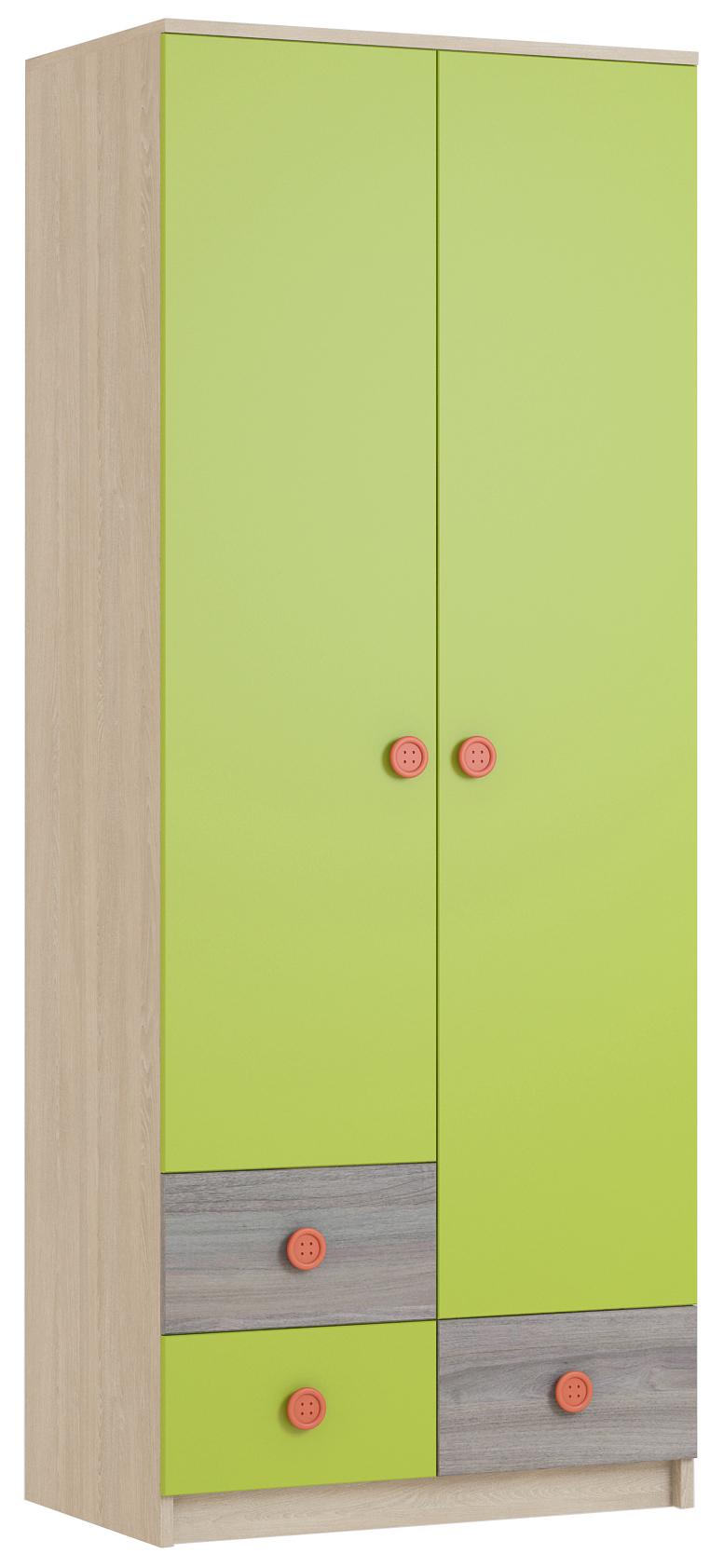 Шкаф для платья Пуговка - фото