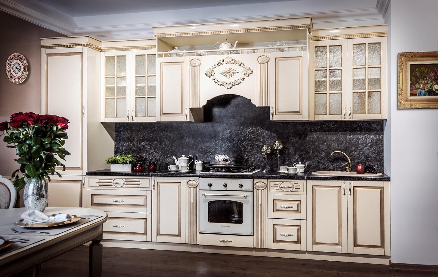 Кухня Верона прямая 3.3м - фото