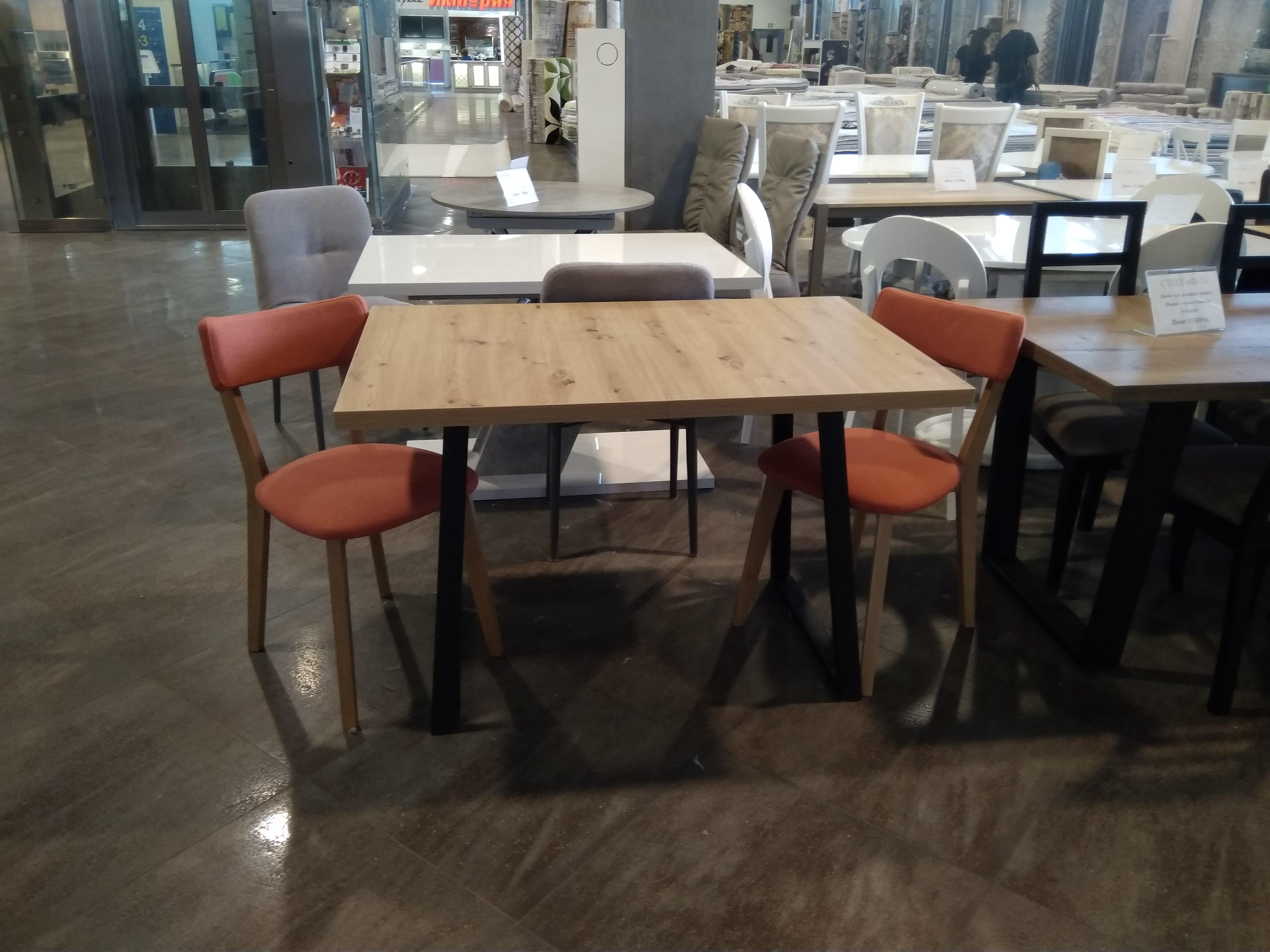 Стол обеденный раздвижной LOFT ARTISAN - фото